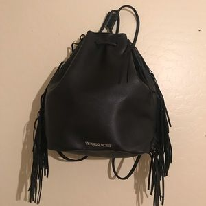 Victoria's Secret Faux Leather Backpack NWT